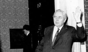 Harold Wilson in March 1974