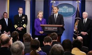 President Barack Obama announces the new Start agreement