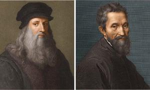 Leonardo and Michelangelo