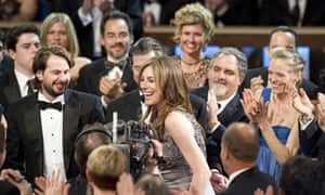 Kathryn Bigelow at the Oscars ceremony, 2010