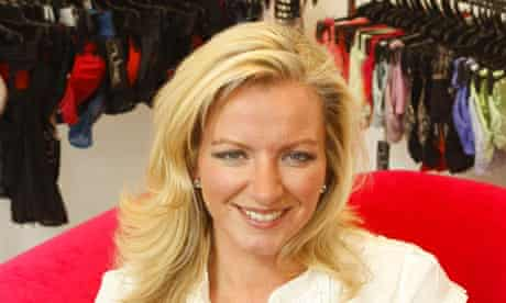 Michelle Mone owner of Ultimo and MJM international