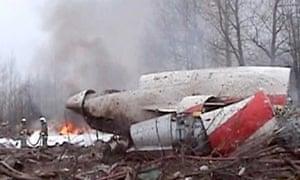 Plane crash in Smolensk, Russia