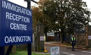 The Oakington Immigration Reception Centre