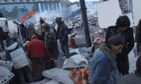 China earthquake in Yushu