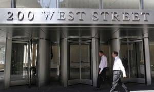 The new Goldman Sachs HQ in Manhattan