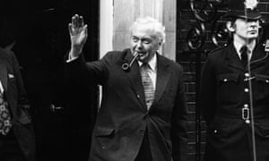Labour leader Harold Wilson