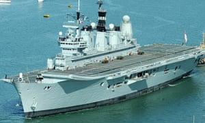 Ark Royal to help return travellers stranded by Iceland volcano eruption