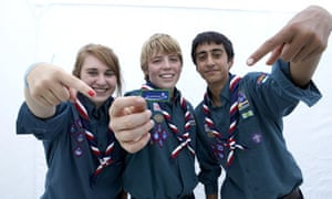 Scouts: increasingly popular with kids and their parents