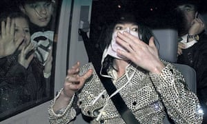 Michael Jackson in mask