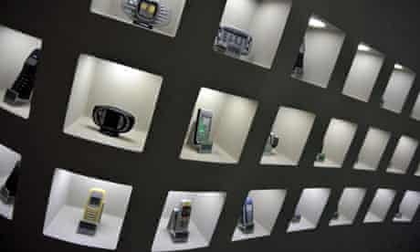 Mobile phones at Nokia HQ in Finland, one of the countries where users' health is to be tracked