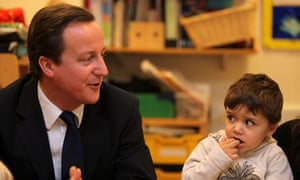 David Cameron Visits Westminster's Children Society