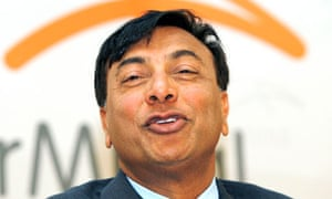 File photo of Lakshmi Mittal in Luxembourg