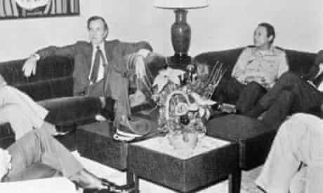 Manuel Noriega and George H. W. Bush