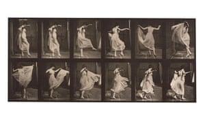 Eadweard Muybridge dancing lady motion studies
