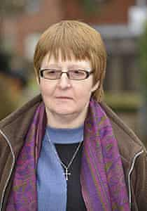 Shirley Chaplin, the nurse who lost her case to wear a crucifix to work, pictured last month.