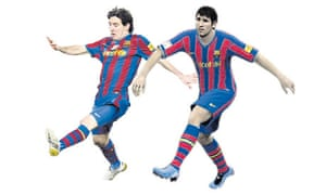 Lionel Messi in his real and virtual incarnations