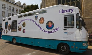 The travelling Library in Cambridge
