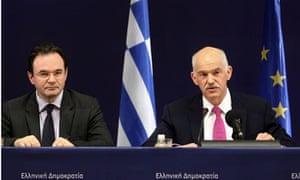 George Papandreou, Papaconstantinou