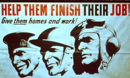 A 1945 Labour election poster.