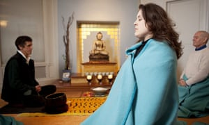 Tanya Gold at the West London Buddhist Centre