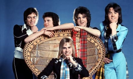 The Bay City Rollers in their heyday