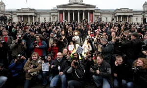 Photographers Protest Against Police Stop And Search Powers