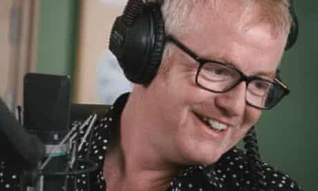 Chris Evans in the BBC Radio 2 studios