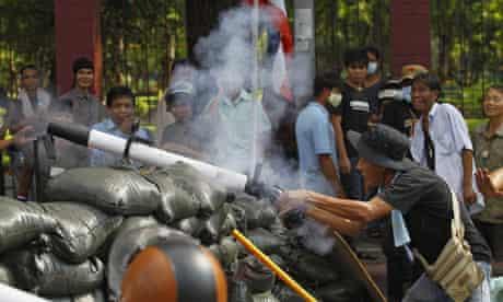 Thai redshirt protests