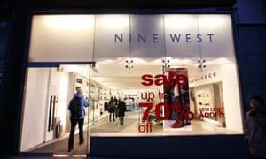 Nine West in Covent Garden