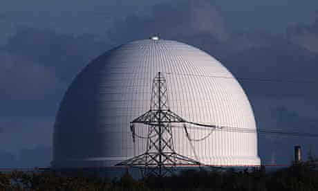 Sizewell B nuclear power station, in Suffolk, England.