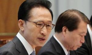 Lee Myung-bak, Yu Myung-hwan