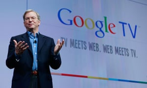 Eric Schmidt introduces Google TV