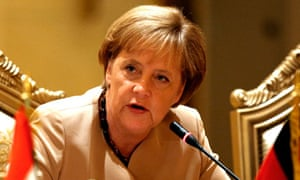 Angela Merkel is accused of making a bad situation worse in her handling of the euro crisis