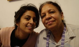 konnie huq and mother