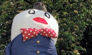 Meerbrook Village Scare Crow Festival Humpty Dumpty