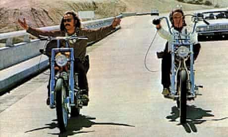 Hopper (l), Fonda (r), Easy Rider, 1969