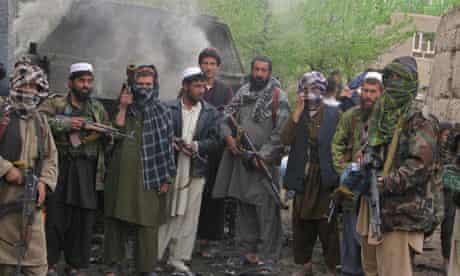 Taliban insurgents in the northern Kunduz Province last month