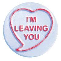 Love heart message