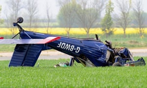 The light aircraft that crashed injuring Nigel Farage and the plane's pilot