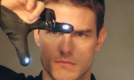 Tom Cruise in Minority Report (2002)