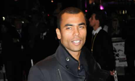 Ashley Cole out on the town