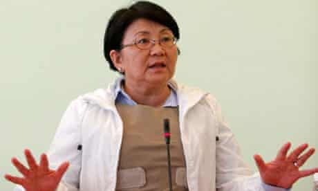 Kyrgyzstan's interim leader Rosa Otunbayeva