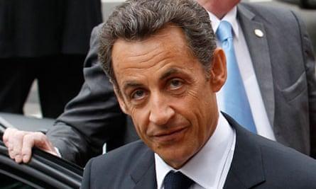 French President, Nicolas Sarkozyn