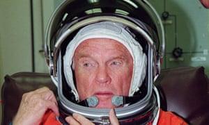 US former astronaut John Glenn