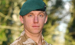 Royal Marine Richard Hollington