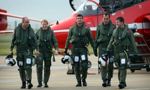 Flight Lieutenant Kirsty Moore of the Red Arrows