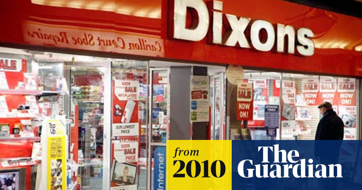 8d198fb7c58 DSG – the retailer formerly known as Dixons – renames itself ... Dixons