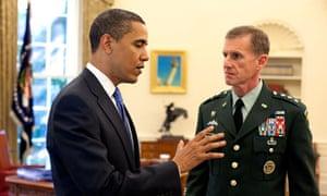 Obama and General McChrystal