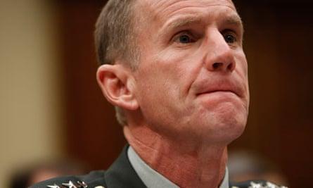 Former US war general Stanley McChrystal