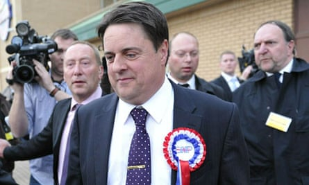 British National Party leader Nick Griff